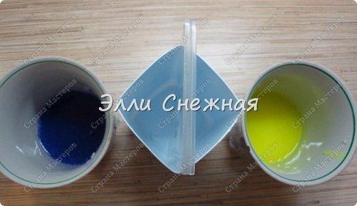 """Сегодня мы с вами сделаем мыло со свирлами. Можно сделать сразу несколько одинаковых мылец с похожим рисунком, если отлить мыльце в виде бруска, а потом разрезать на """"порции"""". фото 9"""