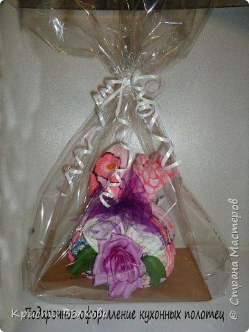 Упаковка полотенец, роспись красками по ткани  фото 2