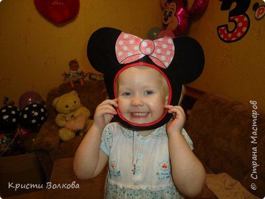 Др Минни Маус 3 годика девочке фото 3
