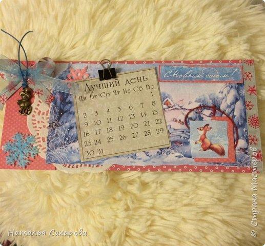 Календарики в подарок учителям, творили вместе с дочкой) фото 1