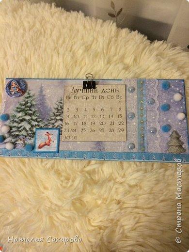 Календарики в подарок учителям, творили вместе с дочкой) фото 3