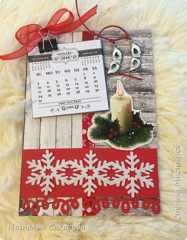 Календарики в подарок учителям, творили вместе с дочкой) фото 7
