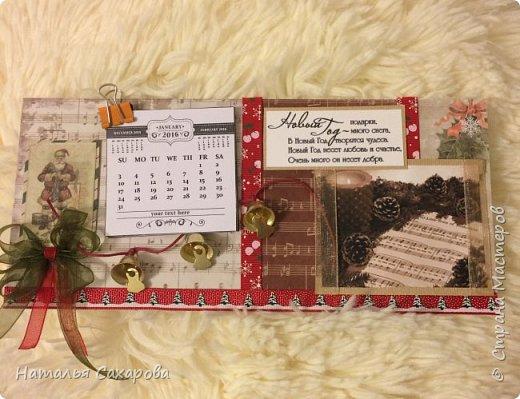 Календарики в подарок учителям, творили вместе с дочкой) фото 8