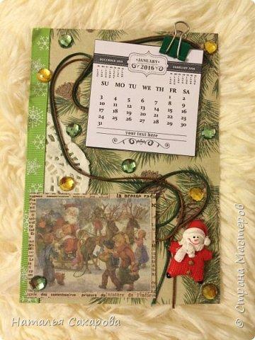 Календарики в подарок учителям, творили вместе с дочкой) фото 10