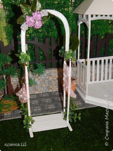 Доброго времени суток, жители Страны Мастеров! Вот сделала давно свадебную беседку с аркой и букетом невесты. Создавала просто вотнемогунужнопрямсрочно. Присоединяйтесь к просмотру, если интересно. фото 3