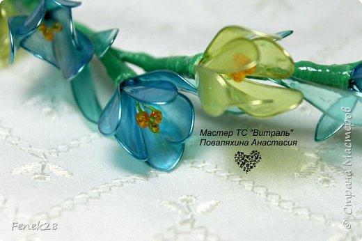 Весенний венок из крокусов фото 3