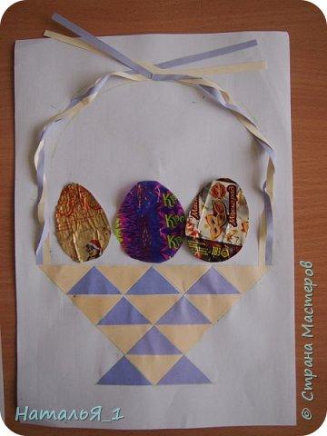 пасхальная корзинка с яйцами фото 8
