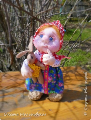 Кукла сшилась на день рождение подруге. фото 2