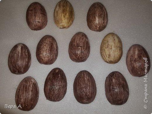 Пасхальные яички-магниты МК фото 8