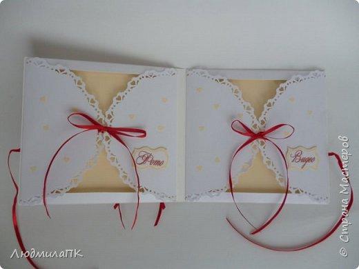 Свадебный набор Цвет марсала в золоте фото 14