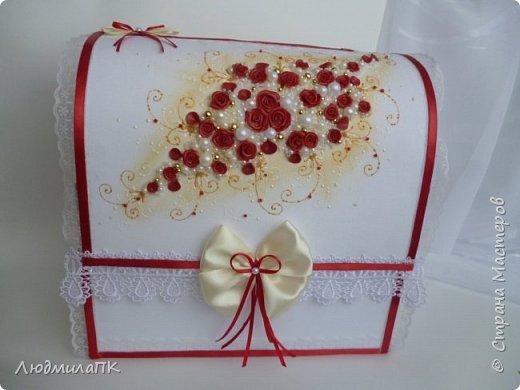 Свадебный набор Цвет марсала в золоте фото 6