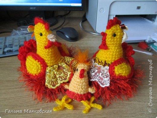 Привет всем!  Хочу показать, что сотворилось за последнюю неделю: тут и курочки, и цыплята и новинки-корзинки.  фото 1