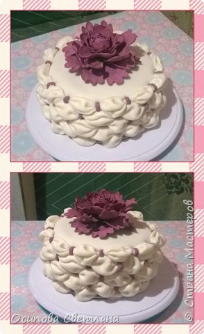 Здравствуй, Страна Мастеров)  Я хоть и сама жуткая сластёна и безумно люблю тортики, делаю их, к сожалению, не очень часто.  Подготовила вот такую партию тортов)   Торт Love is...  фото 2