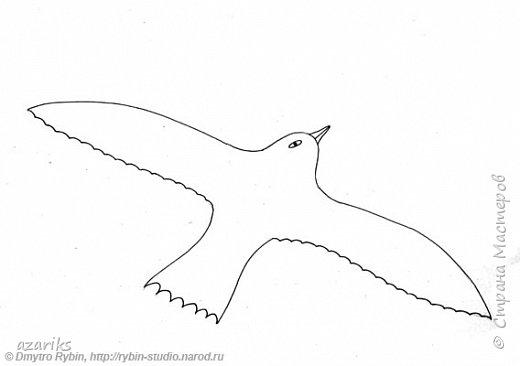 """""""Птица в небе"""". Автор: Дмитрий Рыбин фото 2"""