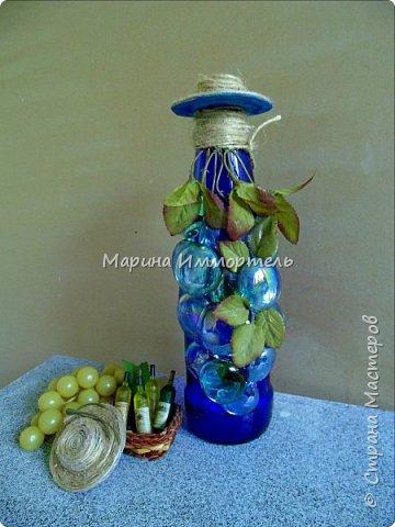 Декор для подачи к столу виноградной наливки фото 1