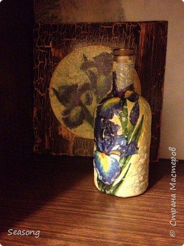 Ирисы (Панно и ваза) фото 2