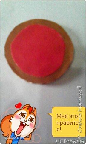 Привет всем !Сегодня я покажу вам как сделать вот такие пиццу и яичницу для кукол . фото 5