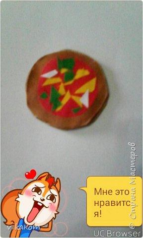Привет всем !Сегодня я покажу вам как сделать вот такие пиццу и яичницу для кукол . фото 7