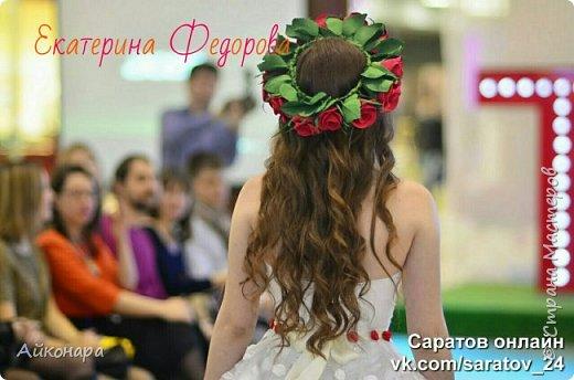 Мое первое знакомство с фомом, стало дебютом на паказе в свадебном салоне. фото 2