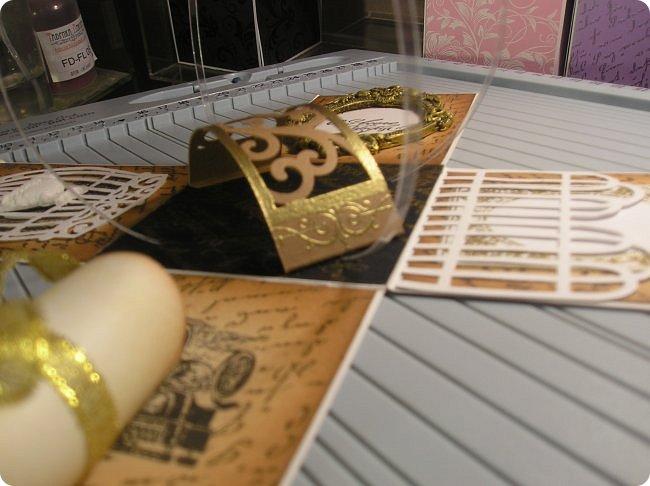 Продолжаю показ.... На 8 марта нужно было что то делать для подарков, и что то быстрое и качественное, и вспомнились мне Олины магнитики..  вот такие у Олюшки были в разработке, http://stranamasterov.ru/node/742304  и я приступила... какая была бумага в заначке с такой и делала... фото 68