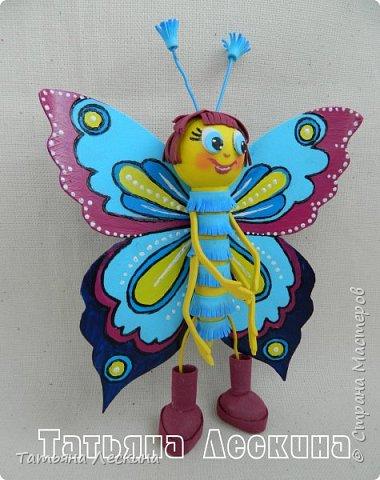 Доброго времени суток всем гостям! Представляю вашему вниманию мою новую куколку- Бабочку-кокетку. Решила я сделать для себя куколку- талисман, вот и родилась на свет эта красотка. фото 5