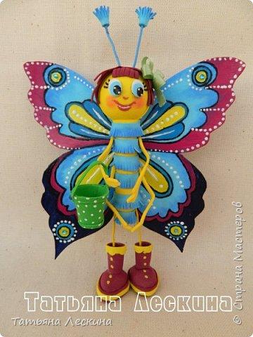 Доброго времени суток всем гостям! Представляю вашему вниманию мою новую куколку- Бабочку-кокетку. Решила я сделать для себя куколку- талисман, вот и родилась на свет эта красотка. фото 1