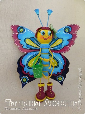 Доброго времени суток всем гостям! Представляю вашему вниманию мою новую куколку- Бабочку-кокетку. Решила я сделать для себя куколку- талисман, вот и родилась на свет эта красотка. фото 8