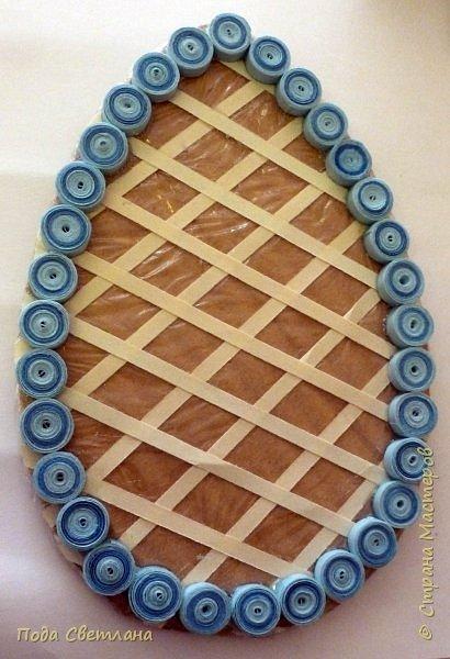 Маленький сувенир к пасхе можно сделать с детьми за 2-3 урока. И маленький МК   http://stranamasterov.ru/node/742600-пасхальный сувенир фото 6