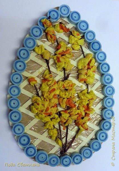 Маленький сувенир к пасхе можно сделать с детьми за 2-3 урока. И маленький МК   http://stranamasterov.ru/node/742600-пасхальный сувенир фото 8
