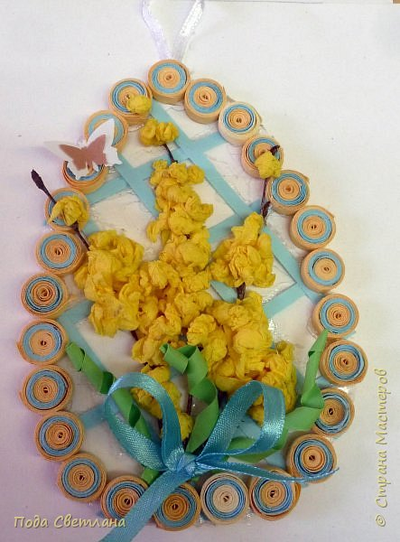 Маленький сувенир к пасхе можно сделать с детьми за 2-3 урока. И маленький МК   http://stranamasterov.ru/node/742600-пасхальный сувенир фото 2