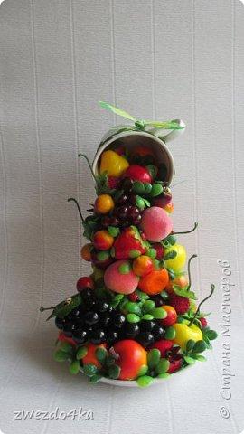 Доброго времени суток всем жителям СМ.. я к вам с новыми композициями.. Вот такая чашечка с цветами шиповника.. фото 5