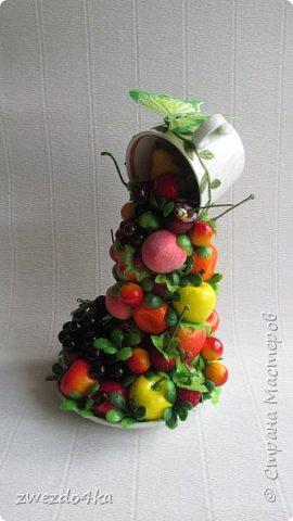 Доброго времени суток всем жителям СМ.. я к вам с новыми композициями.. Вот такая чашечка с цветами шиповника.. фото 6