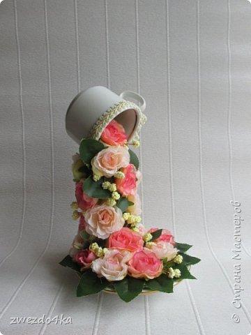 Доброго времени суток всем жителям СМ.. я к вам с новыми композициями.. Вот такая чашечка с цветами шиповника.. фото 3
