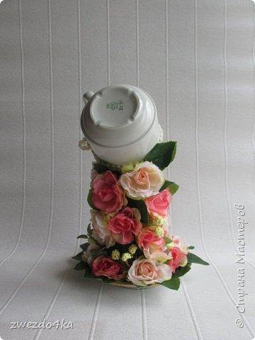 Доброго времени суток всем жителям СМ.. я к вам с новыми композициями.. Вот такая чашечка с цветами шиповника.. фото 4