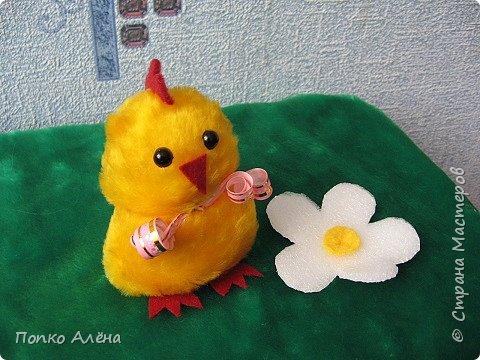 Здравствуйте, дорогие мастера и мастерицы! В преддверии большого праздника Святой Пасхи хочу поделиться с Вами мастер - классом по изготовлению милых, пушистых, пасхальных цыплят. Такие цыплята будут хорошим подарком. Они создадут праздничное настроение. В доме сразу станет уютнее. фото 13