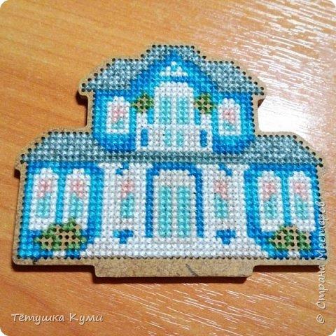 Дом можно построить и иглой... если его вышить! фото 8