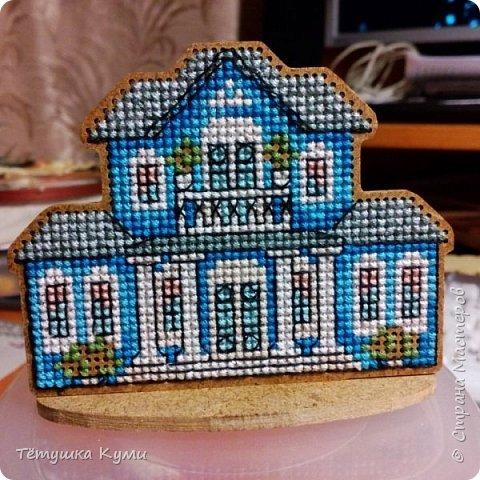 Дом можно построить и иглой... если его вышить! фото 9