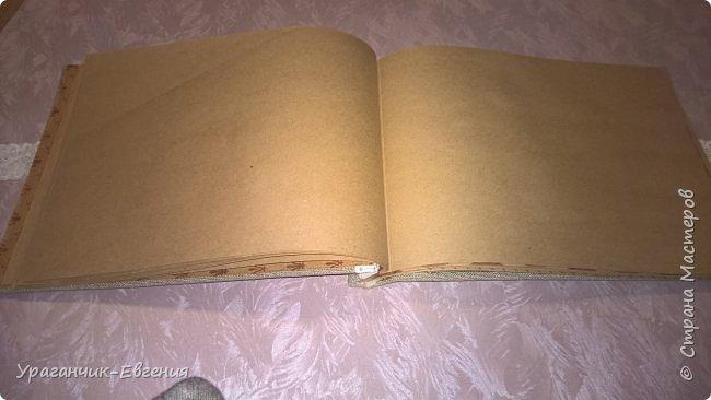 Экспериментальный крафт журнал для записей. фото 5