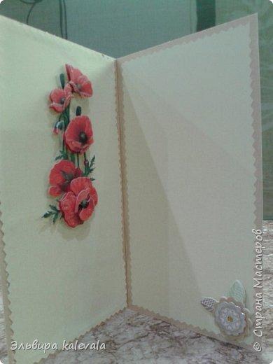 Открытка к 60-летию женщине. Цветочек магазинный.Бабочки на вспененном скотче. фото 12