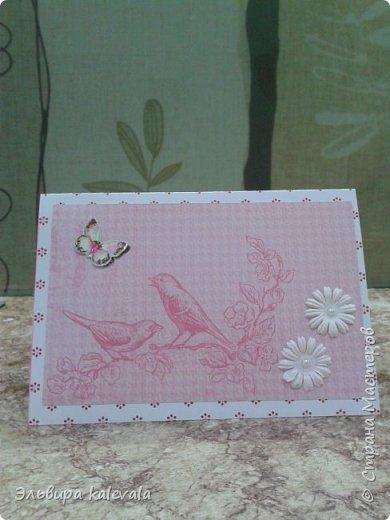 Открытка к 60-летию женщине. Цветочек магазинный.Бабочки на вспененном скотче. фото 13