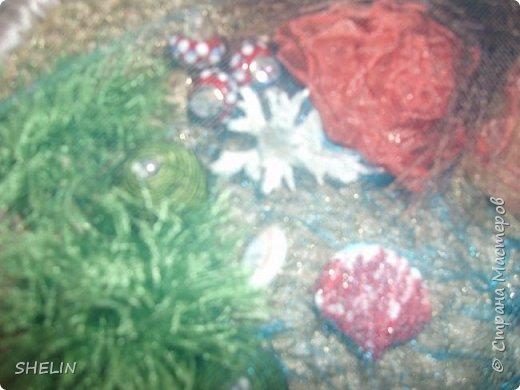 Сумочка из атласных лент крючком 38х30х8 см Внутри 3 кармашка один из которых на застёжке молнии  Я долго думала, как сделать именно подводный мир - вот что получилось... фото 5
