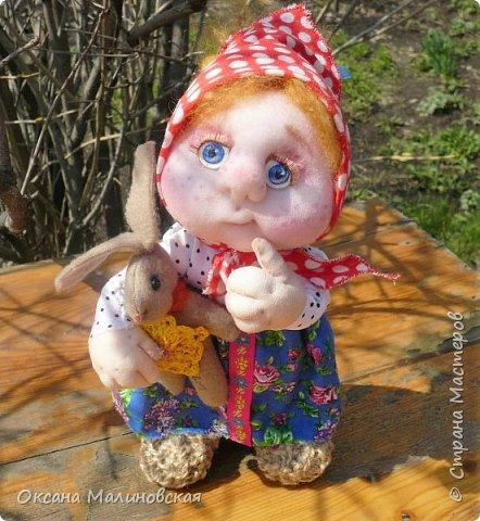 Кукла сшилась на день рождение подруге. фото 5