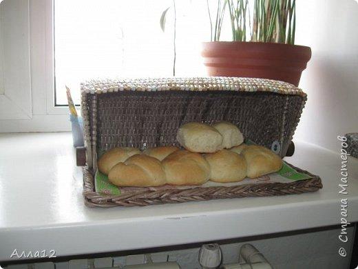 Решила сплести вот такую хлебницу. Рассказывать не умею, просто смотрите :)) фото 2