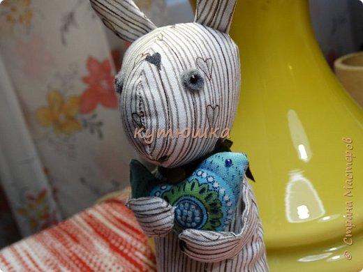 Сказочный лесной ЗаЯц....и его Друг Синий Птиц...... фото 3