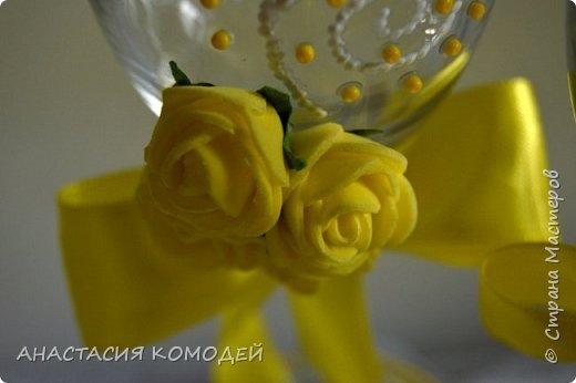 Вот такие бокальчики сделаны на заказ)) фото 2