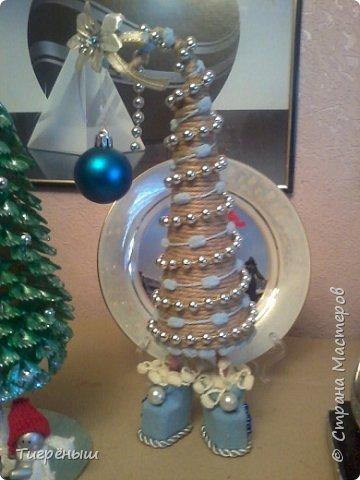 Вечер добрый всем . Мои первые новогодние ёлочки в разгар весны )) Делала в январе их фото 2