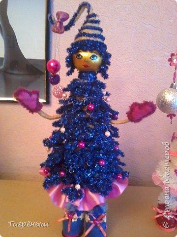 Вечер добрый всем . Мои первые новогодние ёлочки в разгар весны )) Делала в январе их фото 11