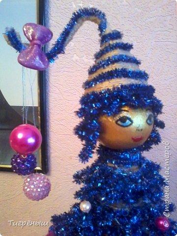 Вечер добрый всем . Мои первые новогодние ёлочки в разгар весны )) Делала в январе их фото 15