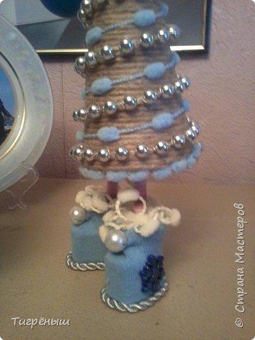 Вечер добрый всем . Мои первые новогодние ёлочки в разгар весны )) Делала в январе их фото 3