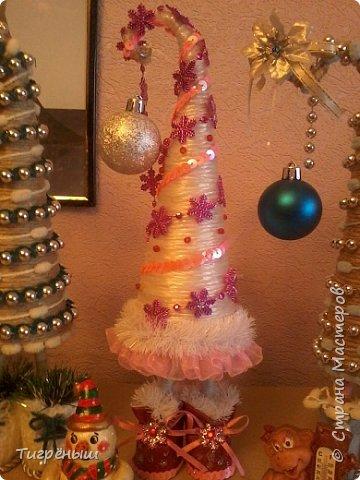 Вечер добрый всем . Мои первые новогодние ёлочки в разгар весны )) Делала в январе их фото 4